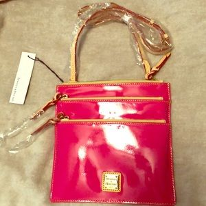 Dooney and Bourke north/south triple zip